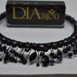 Диадема с перли Black Pearl