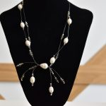 Колие с перли и кристали Light & Tender