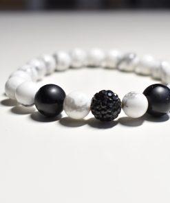 Комплект гривни Black and White